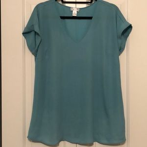 Motherhood Maternity Teal Top Size S